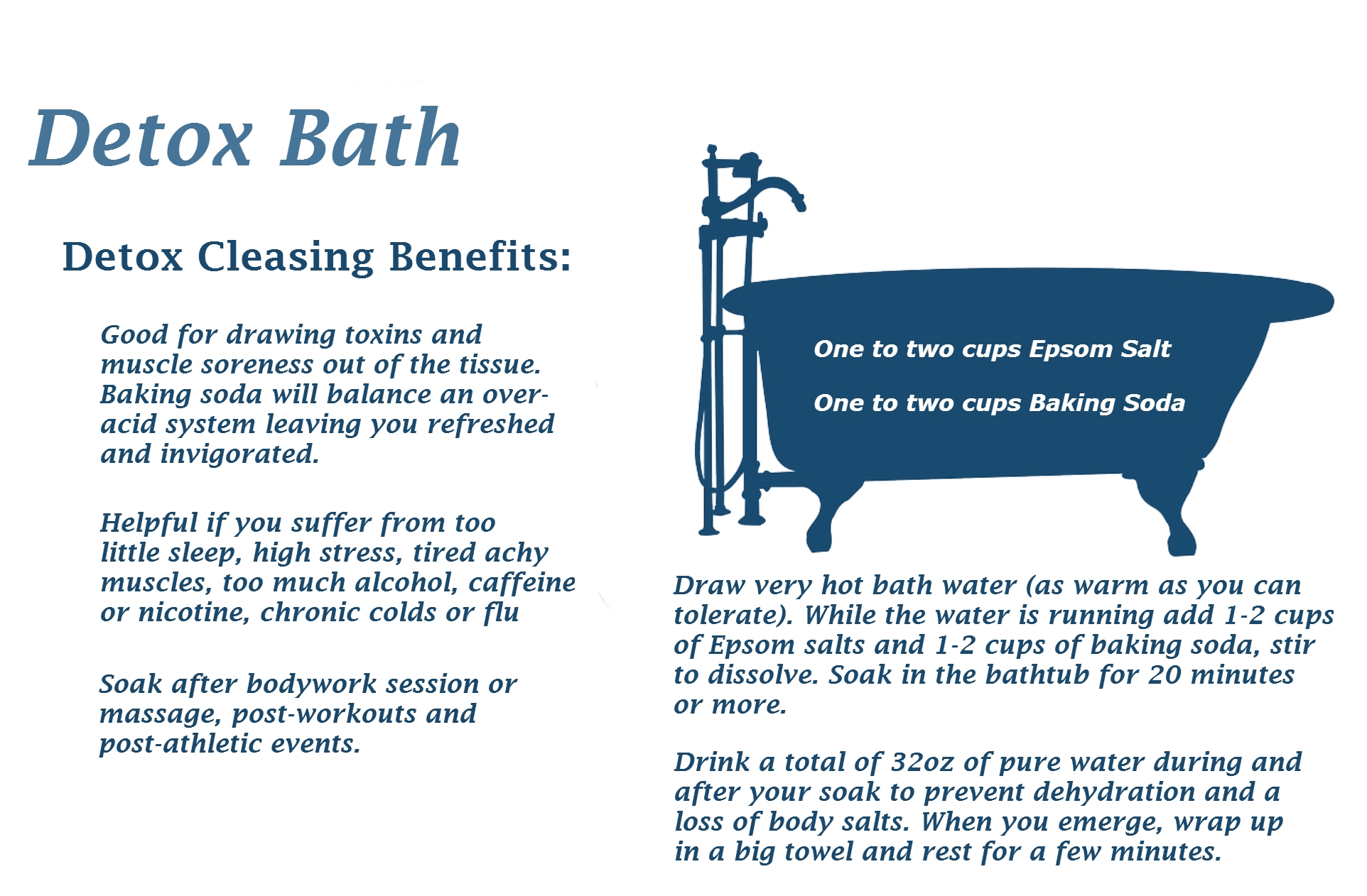 Detox Bath - Miracles of HealthMiracles of Health