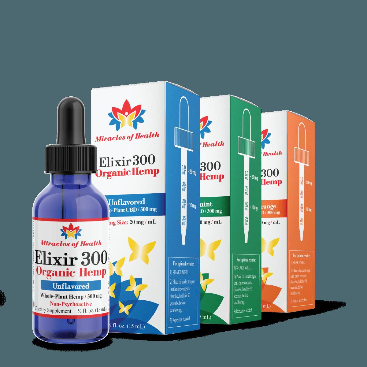 CBD Oil Elixir 300