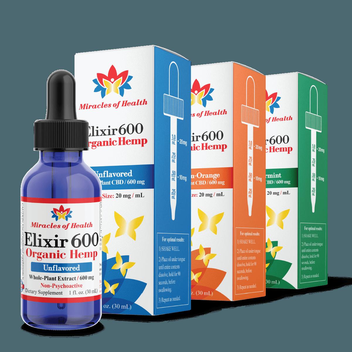 600 mg CBD Tincture