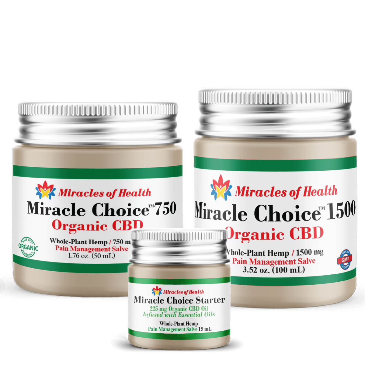 CBD Coconut Salves | Muscle and Joint Topical