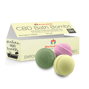 CBD Bath bombs - Great for the Skin